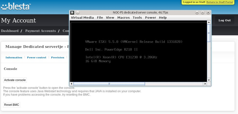 Updated Blesta module | NOC-PS server provisioning system